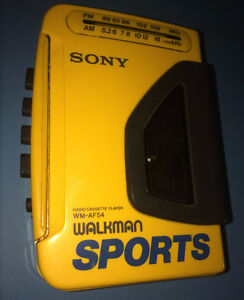 Vintage Sony Sports Walkman - Tested & Working - SO COOL!!