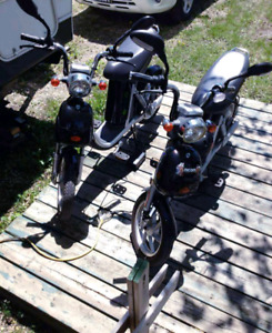 2 Ebikes for sale