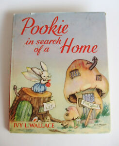 1953 Printing of  Pookie in Search of a Home by Ivy L. Wallace