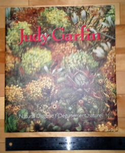 Huge Hardcover of Canadian Artist JUDY GARFIN. Floral, Mystic.