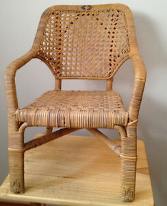 Antique Children's Cane Chair