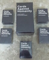 Cards against Humanity - Base/5 Expansions Available - SEALED!