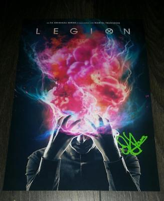 "LEGION PP SIGNED 12""X8"" A4 PHOTO POSTER TV SERIES DAN STEVENS"