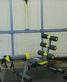 Incline weight bench multi gym