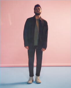The Weeknd x H&M Suede Coach Jacket