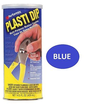 Blue 14.5oz Performix PLASTI DIP Plastic Multi Rubber Grip Coating Handle Tool Performix Plasti Dip