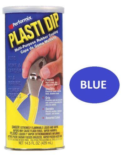 BLUE 14.5oz Performix PLASTI DIP Plastic Multi Rubber Grip Coating Handle Tool