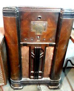 Rare 1936 RCA Victor Model 10k1 Magic Eye / Brain / Voice Radio