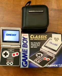 Game Boy Advance SP Classic NES Limited Edition