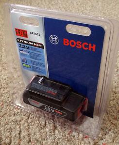 Bosch 18V 2.0 Ah Li-ion battery, brand new in plastic