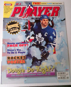 Hockey - BE A PLAYER Magazines form 1995 issue 1 and 2