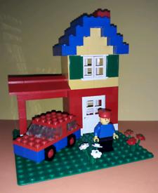 Vintage Lego Basic Lego Set 544 Vintage 1981 100% Complete