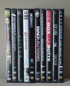DVD Collection - Action - 10 different titles