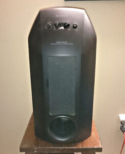 Sony SA-W10 Powered Subwoofer
