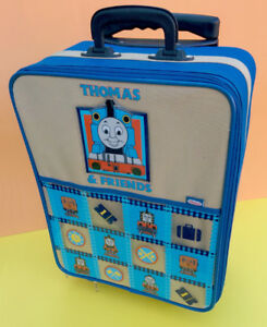 Vintage & rare Thomas The Tank Engine child's rolling suitcase