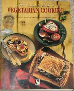 The Complete Book of Vegetarian Cooking Large Colorful Book