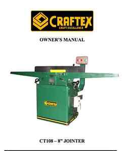 8 Inch Jointer CT108