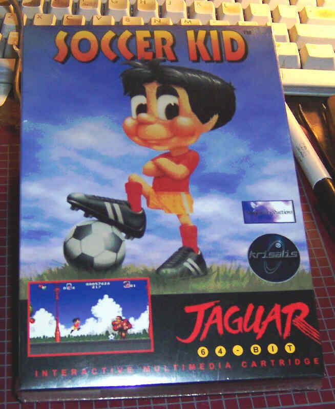SOCCER KID Atari Jaguar NEW Factory Sealed
