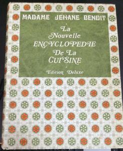 Encyclopédie de la cuisine, édition Deluxe de Jehane Benoit