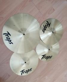 Traps zildjian cymbals Sabian /Meinle /Mapex