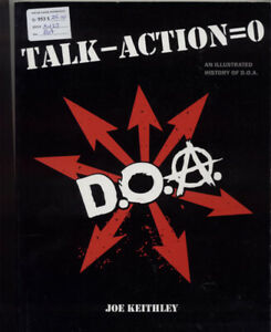 Talk - Action = 0: An Illustrated History of D.O.A.