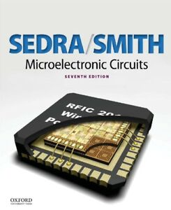 Microelectronic Circuits Hard Cover 7TH Edition - Sedra