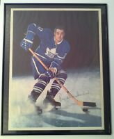 Libby's 1964 NHL Leafs Hockey Poster of Frank Mahovlich