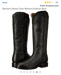Ariat About Town Tall leather boots.