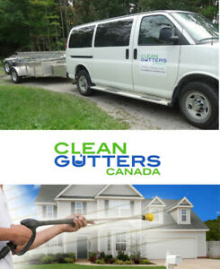 Eavestrough Cleaning, Pressure Washing