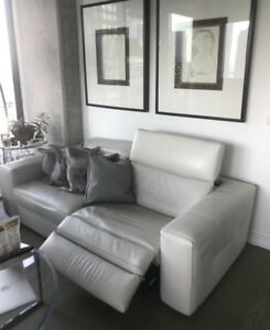 Real Leather Sofa *Designer*