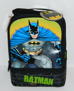 Thermos Batman Lunch Bag With Container Brand New