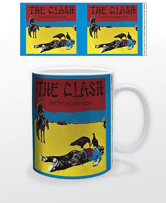THE CLASH GIVE ´EM ENOUGH ROPE 11 OZ COFFEE MUG MUSIC UK PUNK ROCK BAND REBELS!!