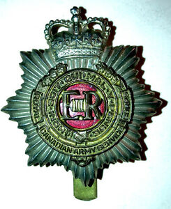 Royal Canadian Service Corps Cap Badge 1953