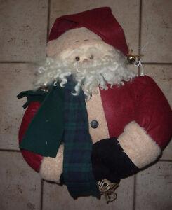 Large stuffed Santa head + torso Kitchener / Waterloo Kitchener Area image 1