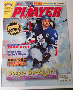 Hockey - BE A PLAYER Magazine issue 1 and 2 1995