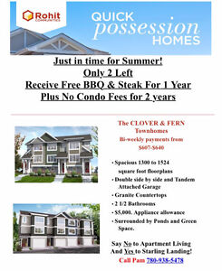 NO CONDO FEES FOR 2 YEARS!