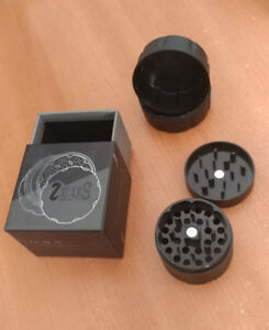 4pc Herb Grinder (Zeus Bolt)