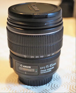 Objectif Canon EF-S 15-85 mm f/3.5-5.6 IS USM
