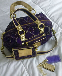 Coach Satchel and coin purse