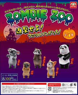 [ New Arrival ] Halloween Gacha KATSU Capsule Toy ZOMBIE ZOO FIGURE アニマルゾンビの楽園](Gacha Halloween)