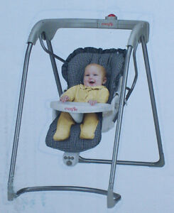 EVENFLO Baby Swing-Immaculate Condition Strathcona County Edmonton Area image 1
