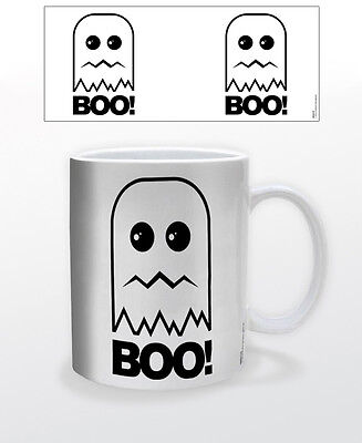 BOO! 11 OZ COFFEE MUG TEA CUP SCARY CUTE DECOR HALLOWEEN FUN KIDS CELEBRATE MASK - Cute Kid Halloween Decorations