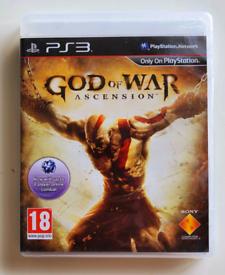 GOD OF WAR: ASCENSION - PLAYSTATION 3.