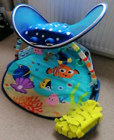 Finding nemo sensory baby play mat