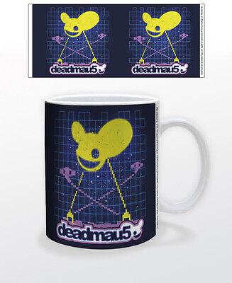 DEADMAU5-INVADERS 11 OZ COFFEE MUG TEA CUP MUSIC DJ RECORD CANADA HOUSE MASKS!!! - House Mug Music