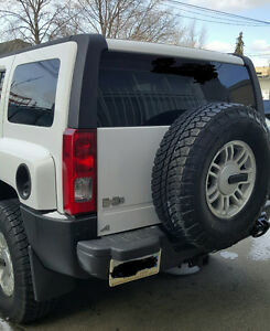2005 HUMMER H3 white Other