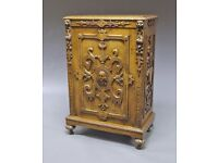 Chest of Drawers Hand-carved Rare Antique