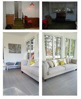 Home reno / renovation maison