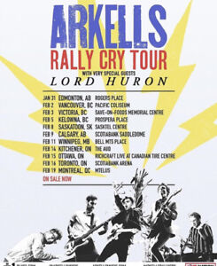 Arkells Tickets - Two General Admission t