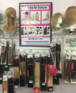 HAIR EXTENSIONS  100% REAL HAIR - LOWEST PRICES in St. Joh